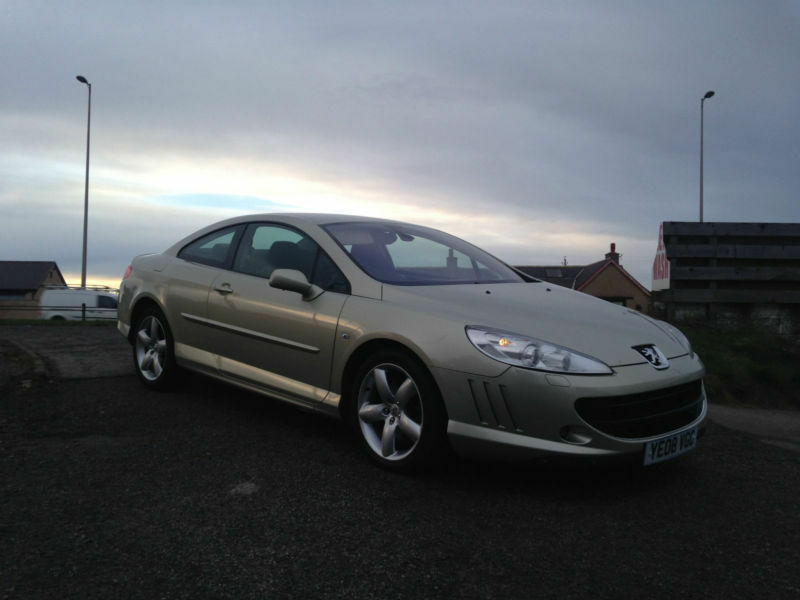 2008 08 peugeot 407 coupe gt 2 7hdi v6 205bhp auto in stonehaven aberdeenshire gumtree. Black Bedroom Furniture Sets. Home Design Ideas