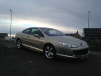 2008 08 Peugeot 407 Coupe GT 2.7HDi V6 ( 205bhp ) auto