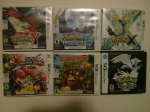 DS, 3DS & GBA Games