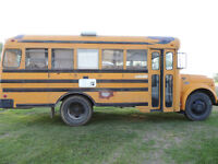 1969 Bluebird School bus converted to an Rv Craven Special