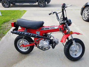 1985 Honda CT70 Mini Trail