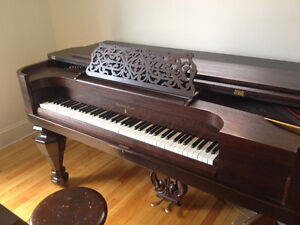 Piano antique Marshall and Wendall 1876