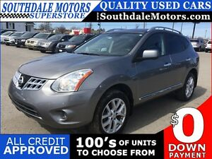 2013 NISSAN ROGUE SL * AWD * LEATHER * SUNROOF * NAV * REAR CAM