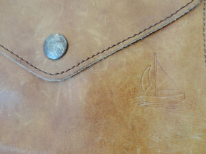 Vintage Leather Belt Sachel Pouch &Vintage Accounting Tally Book Kitchener / Waterloo Kitchener Area image 5
