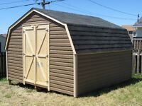 12X12 baby barn shed