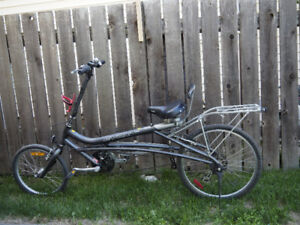 Very comfortable Norco Evox 140 semi recumbent bike
