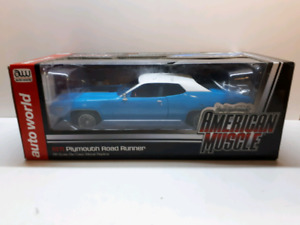 Autoworld 1:18 diecast 1971 Plymouth Roadrunner