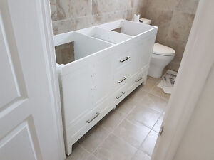 100% NEW Double Washbasin (NEVER USED) I can DELIVER FOR FREE!