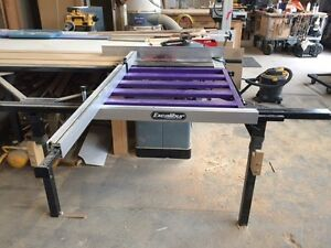 Table saw sliding table - Excalibur