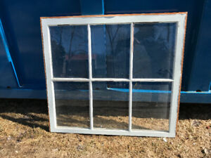 Salvaged Window Frames for Your Craft Project