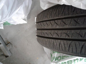 All season tires with rims and hubcaps!!!
