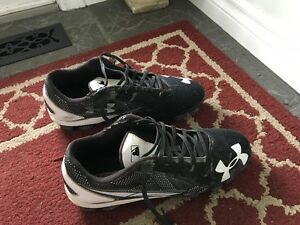 Men's Under Armour Baseball Cleats, size 10.5