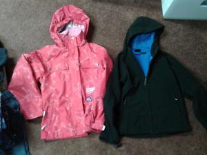 Girls Spring Jackets - fleece lined