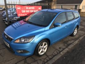 2008 (58) FORD FOCUS ESTATE TDCI, MOT NOVEMBER, TRADE IN TO CLEAR