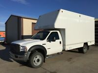 2007 Ford F-550 Cargo Truck