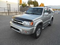 1999 Toyota 4Runner Auto 4x4 Limited Quick Finaning Available