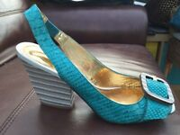 Moda in Pelle wedges size 7