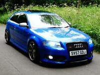 2007 57 Audi S3 2.0T FSI Quattro 3 Door..395 bhp..£10,000 PERFORMANCE UPGRADES!!