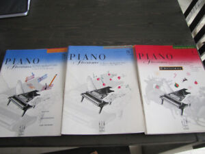 Piano books/lessons/theory
