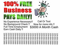Earn Cash Daily - $3000 A Month