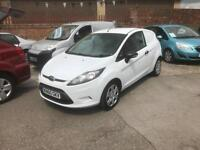 2010/60 Ford Fiesta 1.4TDCi ( 68PS ) Base 3d DIESEL VAN NOW ONLY £2995 INC VAT
