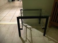 Medium size side/coffee/tv table for sale