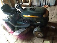 "Craftsman ride on mower 42"" cut"
