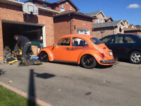 1971 vw beetle hoodride NEW PRICE!!!!  TRADES ALSO!!!!!