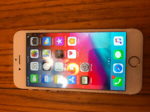 Unlocked gold iPhone 6 16gb