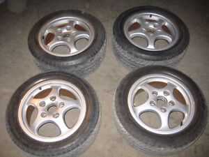 Porsche Cup Rims and Michelin Tires Wheels OEM
