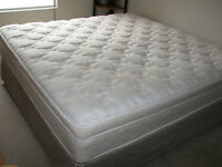 2 SEARS KING size mattresses: one Pillow-top and one Orthopedic