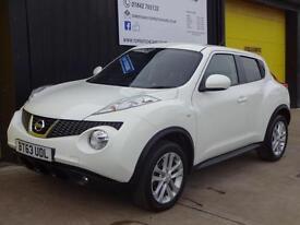 2013 (63) Nissan Juke 1.5 dCi 110 Acenta Premium Diesel PCP deal £164 per month