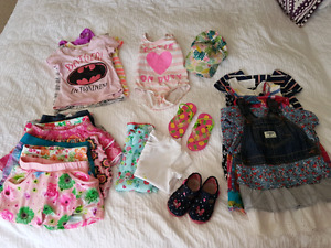 Girl spring/summer clothes lot - Size 3T