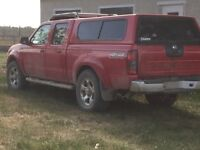 2002 Nissan Frontier topper