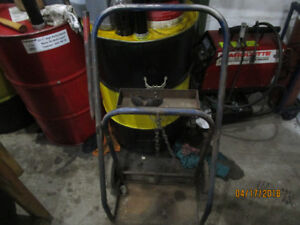 OXY ACCETYLENE TORCH CART USED