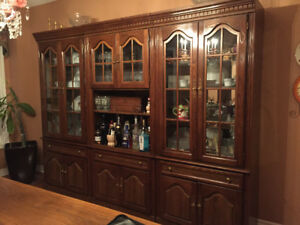 THREE PIECE WALL UNIT-EXCELLENT CONDITION 500.00 or best offer