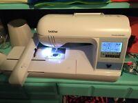 PE 780D embroidery machine