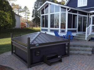 COVANA OASIS GAZEBO AND AUTOMATIC COVER