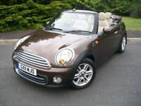 MINI COOPER 1.6 CONVERTIBLE RARE AUTOMATIC, HUGE SPEC JUST 20,000 MILES FROM NEW
