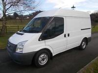 FORD TRANSIT 280 100PS SEMI HIGH VAN 62 REG 103,000 MILES AIR CON