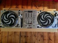 2x Numark TT1520 Turntables & Mixer DJ Set-up VERY GOOD CONDITION
