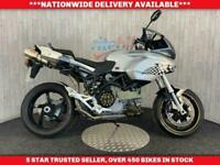 DUCATI MULTISTRADA 1000 DS G.P.R. EXHAUSTS FULLY PREPPED 2004 04