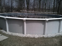 BARTER FOR 27' DIA. ABOVE GROUND POOL W/ALL EQUIPMENT.