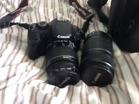 Canon EOS 550D DSLR Twin Zoom Kit Camera Pack. Perfect For Beginners!