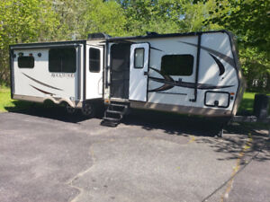 Rock wood Travel Trailer 36ft 2016