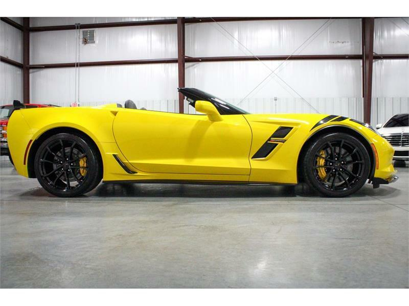 2019 Yellow Chevrolet Corvette Convertible 3LT | C7 Corvette Photo 6