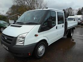 2011 FORD TRANSIT T350 100 6 SPEED E/F DRW DOUBLE CAB DROPSIDE DROPSIDE DIESEL
