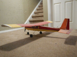 RC trainer plane complete ready to fly