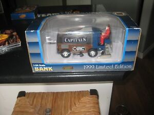nhl team collectible zamboni die cast