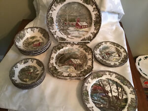 Johnson Brothers Friendly Village Plates & Bowls